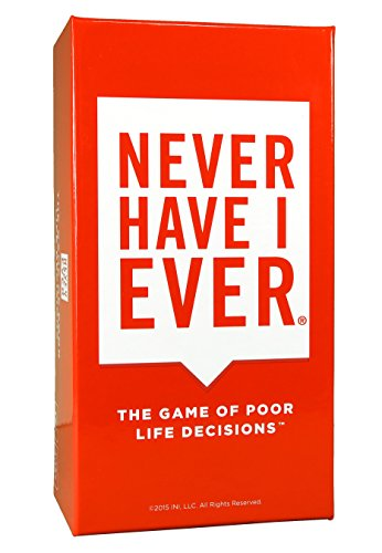 Never Have I Ever -- Outrageous and Strategic New Card Game to Play with Your Friends! Best for Parties, Game Nights, etc. Back-Slapping Laughter All Night Long! for Ages 17+