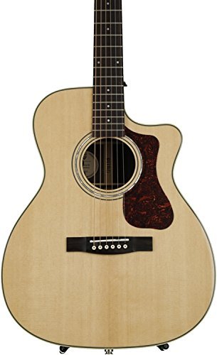 Guild OM-150CE Acoustic-Electric Guitar in Natural