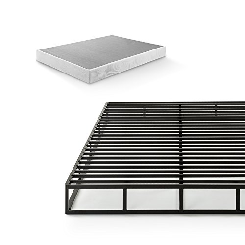 Zinus Victor 7.5 Inch Quick Lock Smart Box Spring / Mattress Foundation / Strong Steel Structure / Easy Assembly, Queen