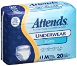 Attends 22133101 Absorbent Underwear Attends Extra Pull On Medium Disposable Extra Absorbency Ap0720 Box Of 20