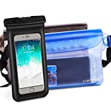 Waterproof Pouch   Crenova BP-02 100% Waterproof Dry Bag Snowproof Dirtproof Sandproof Case Bag with Super Lightweight and Bigger Space; Adjustable and Extra-Long Belt; Perfect for Beach / Swimming / Boating / Fishing