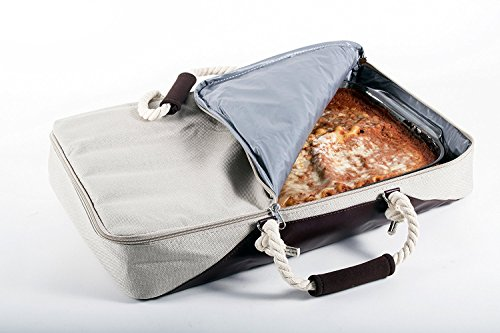 G.U.S. Casserole Carrier and Food Warmer - Insulated Portable Travel Casserole Tote (Holds up to 11