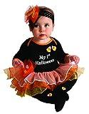 Rubie's My First Halloween Tutu And Onesie, Black, 6-12 Months