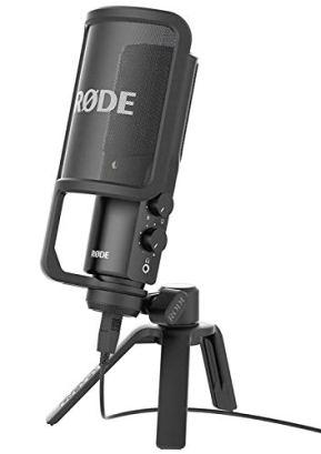 Rode-NT-USB-Versatile-Studio-Quality-USB-Cardioid-Condenser-MicrophoneBlack