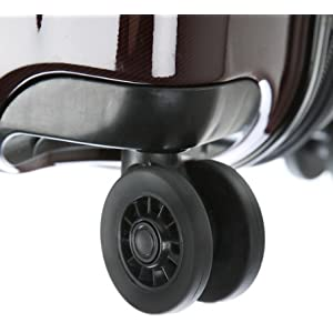 Smooth dual spinner wheels