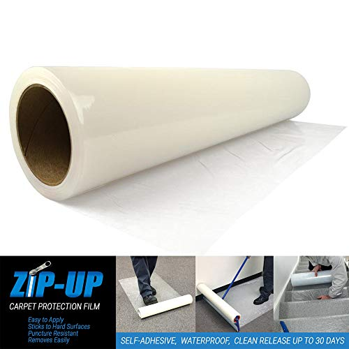 """Zip-Up Products CPF48500 Carpet Protection Film 48"""" x 500'"""