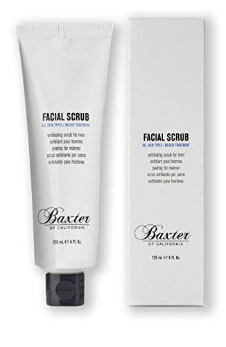 Baxter of California Exfoliating Facial Scrub for Men | Non-Drying with Walnut and Avocado Oil | All Skin Types | 4 Fl… 1