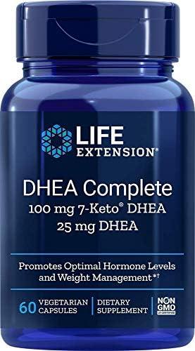 Life Extension Dhea Complete (7-Keto Dhea 100 mg and Dhea 25 mg), 60 Vegetarian Capsules 3