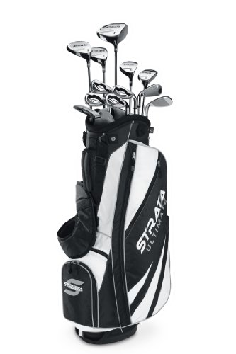 Callaway Men's Strata Ultimate Complete Golf Set, Prior Generation (18-Piece, Right Hand)