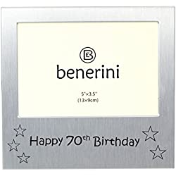 Happy 70th Birthday - Photo Frame