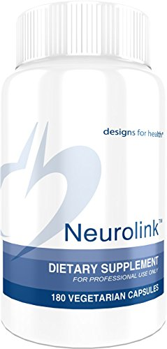 Designs for Health Neurolink - GABA + 5-HTP + Taurine for Mood + Cognitive Support (180 Capsules)