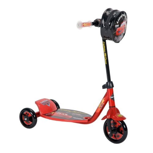 New Lightning McQueen CARS Scooter - Preschool 3 Wheeled Scooter by Disney Pixar Cars - HUFFY