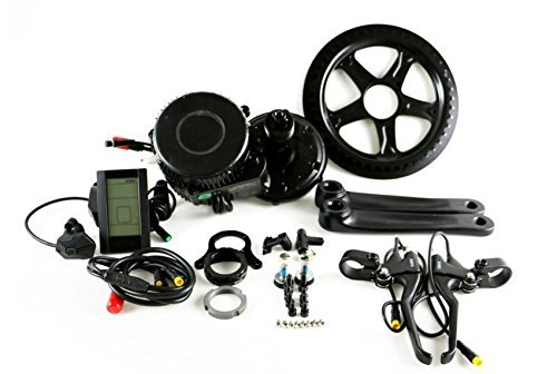 48V 750W 8Fun Bafang Mid-Drive Motor Conversion Kits with integrated Controller and LCD Display