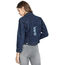 Zotikfit-Casual-Solid-Blue-distressed-Denim-Jacket-For-Women-ZJKT29