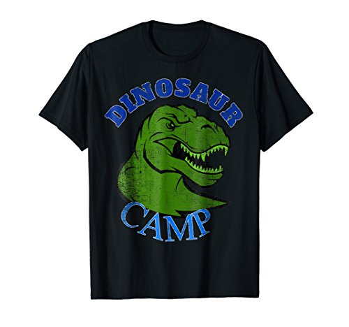Paleontology Dino Camp T-Shirt. Can You Dig Those Bones Tee