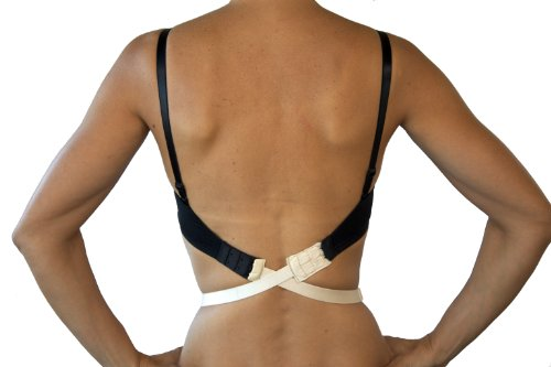 Fashion First Aid Women's Low Expectations Low Back Bra Converters with 2 Hooks