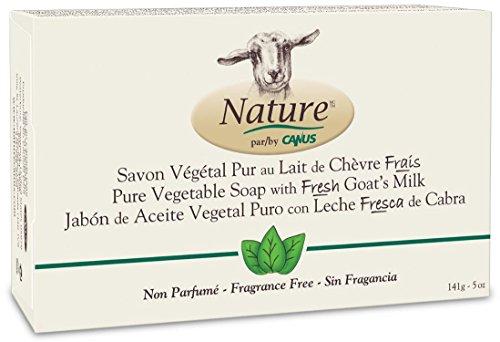 Canus Goat's Milk Soap, Fragrance-Free 5 Oz