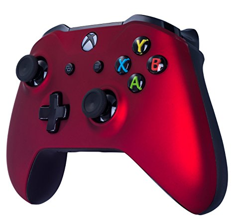 416EAlFTu3L - Xbox One S Wireless Controller for Microsoft Xbox One - Soft Touch Red X1 - Added Grip for Long Gaming Sessions - Multiple Colors Available