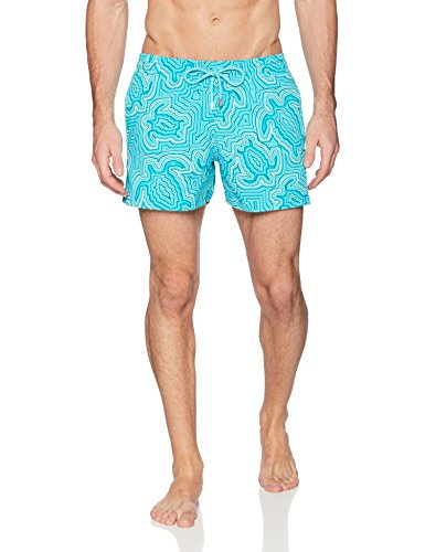 918b BRN7rL Combining comfort and style, these shorts feature an elastic waistband and drawstring It has two side pockets and a rear pocket with a velcro flap