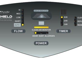 Advanced PureAir Air Shield Air Purifier
