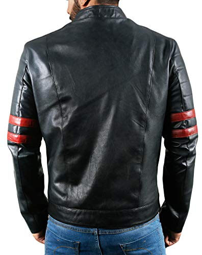 Laverapelle Men's Genuine Lambskin Leather Jacket (Black, Racer Jacket) - 1501535 16 Fashion Online Shop gifts for her gifts for him womens full figure