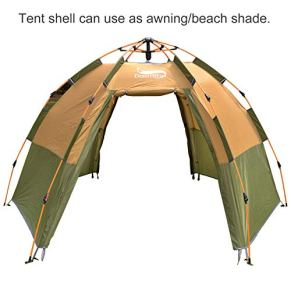 DESERT-FOX-Instant-Pop-up-Tent-3-4-Person-Hexagon-Dome-Family-Tent-Automatic-4-Season-Portable-Backpacking-Tent-for-Camping-Hiking-Traveling