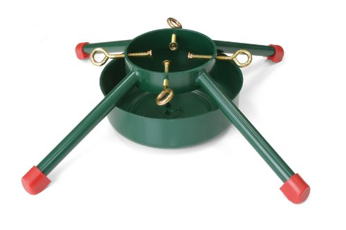 JACK-POST Welded Steel Christmas Tree Stand, for Trees Up to 12-Feet, 1.7-Gallon Water Capacity