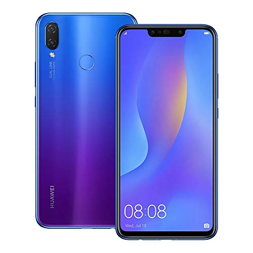Huawei nova 3i (INE-LX2) 4GB / 128GB 6.3-inches Dual SIM Factory Unlocked - International Stock No Warranty (Iris Purple)