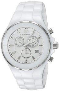 Technomarine Men's Cruise Quartz Watch with Ceramic Strap, White, 24 (Model: TM-115319)