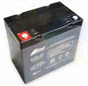 Solar Battery AGM 55AH 12V DC