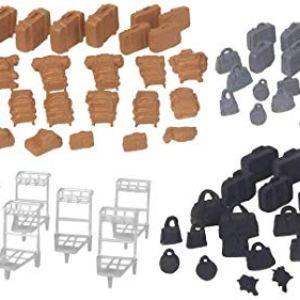 Walthers SceneMaster 949-4142 Suitcases & Packs (86) Kit 416TCgvS8QL