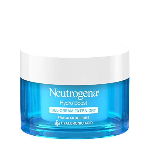 Neutrogena Hydro Boost Hyaluronic Acid Hydrating Gel-Cream Face Moisturizer to Hydrate & Smooth Extra-Dry Skin, Oil-Free…