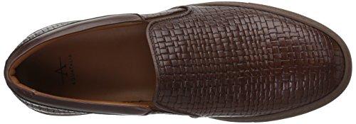 416bHNqbtDL Embossed calf leather slip-on sneakers. Weatherproof