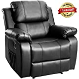 Product review for Merax Power Massage Reclining Chair with Heat and Massage Heated Vibrating Massage Recliner