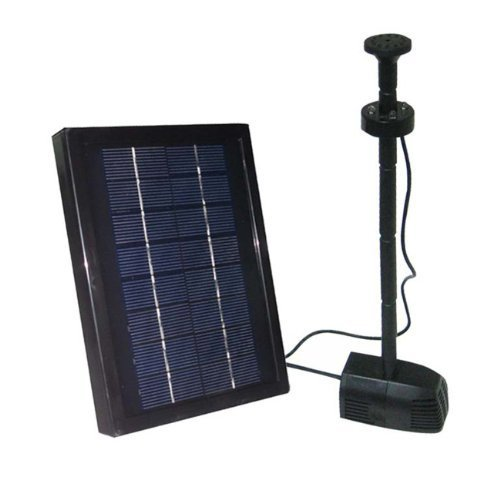 2.5 Watt Solar Water Pump Kit With Battery