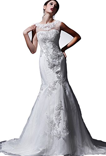 71jq7W2l3vL lace wedding dresses Built-in bra. Dry clean only. Custom-made, Color-change Available