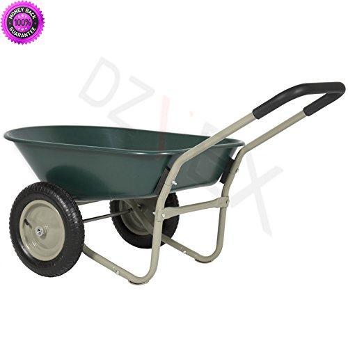 Dzvex Dual Wheel Home Wheelbarrow Yard G Buy Online In Canada At Desertcart