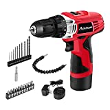 Avid Power 12V Cordless Drill, Power Drill with 22pcs Bits