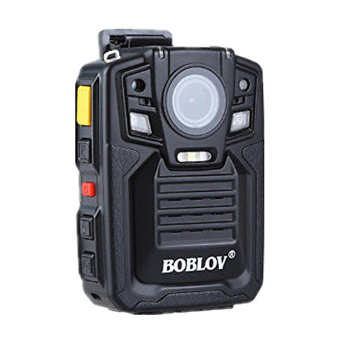 BOBLOV HD 1296P A7 64GB Wide Angle Ultra Police Security Body Worn Camera Infrared IR Recorder