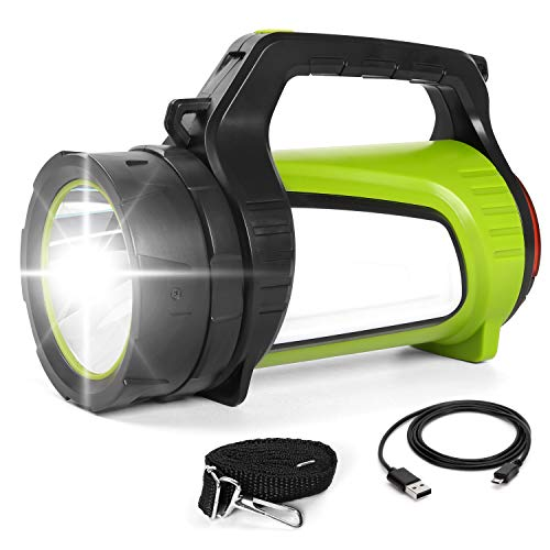 Odoland-Ultra-Bright-1200-Lumen-LED-Camping-Lantern-Rechargeable-with-Brightness-Adjustment-2600mAh-Power-Bank-of-5-Light-Modes-Portable-Lantern-Flashlight-for-Hurricane-Emergency