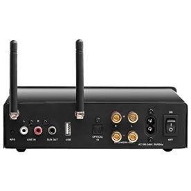 Nero-Stream-200W-App-Controlled-Power-Amplifier-2-Channel-Class-D-Built-in-DAC-WiFi-Bluetooth-Optical-USB-RCA-Inputs-OSD-Audio