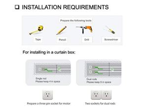 Homesupplier-Smart-Curtains-Remote-Control-Curtain-Track-Compatible-with-Alexa-Google-Home-Smart-Life-App-Customizable-Length-10-ft