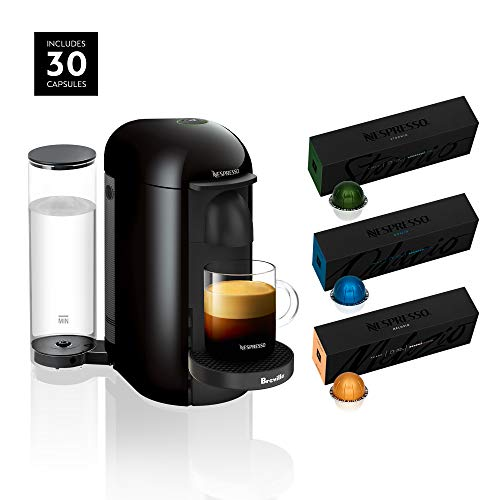 Nespresso VertuoPlus Coffee and Espresso Maker by Breville with BEST SELLING COFFEES INCLUDED 1