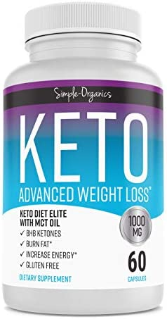 Keto Diet Pills 1000 Mg- Advanced Weight Loss Supplements- Burn Fat Instead of Carbs- 30 Day Supply 3