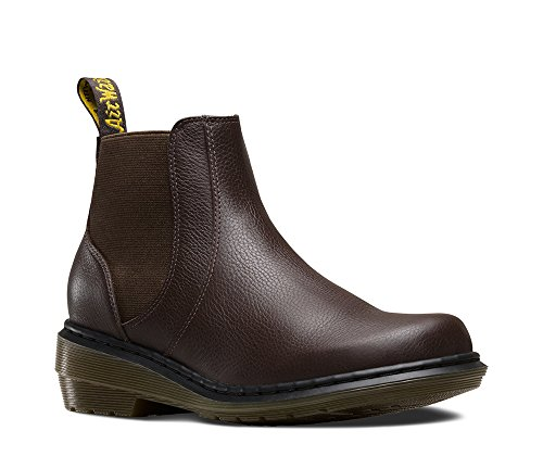 Dr. Martens Women's Pamela Rich Brown Broadway Boot UK 7 (US Women's 9) M