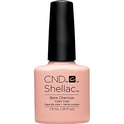 CND Shellac Nail Polish, Bare Chemise, 0.11 lb.