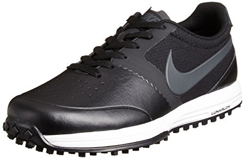 new product e3406 1bb5e NIKE Golf Men s Lunar Mont Royal High Performance Golf Shoe, Black Summit  White