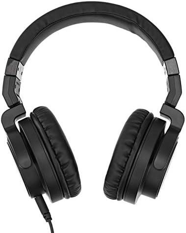 Amazon Basics Over-Ear Studio Monitor Headphones - Black 12