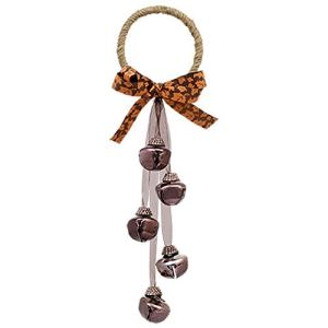 Floral Garden Fall Door Hanger with Bells