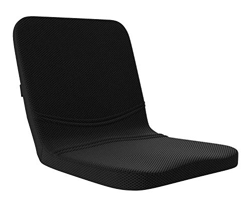 bonmedico All-in-One Comfort Cushion, Orthopedic Seat Cushion & Back Cushion in One, Lumbar Support Pillow Made of Highly Elastic Foam, Great at Home Or As an Office Chair Cushion & Back Pillow